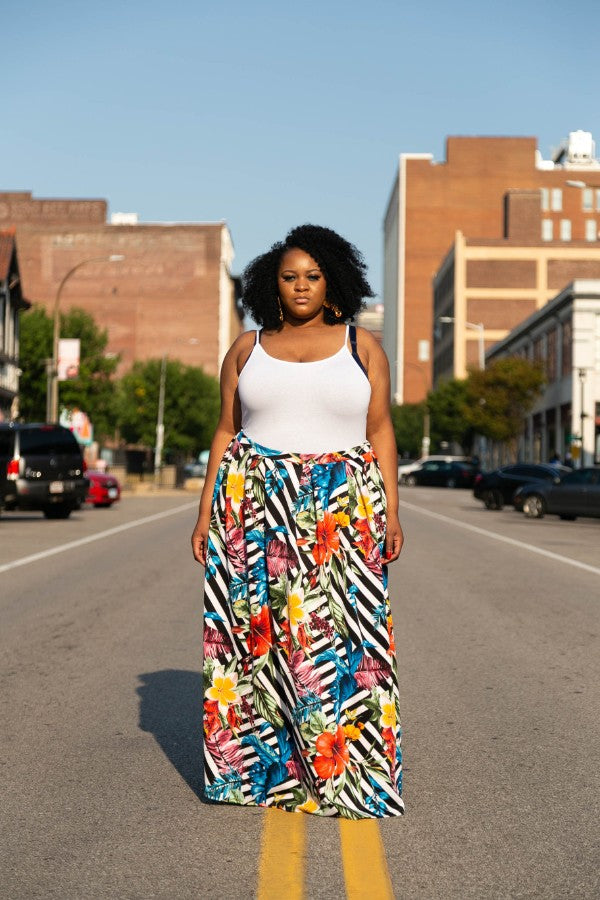 Rainforest Maxi Skirt