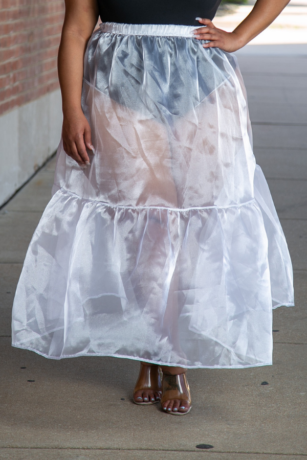 Sheer Energy Maxi Skirt
