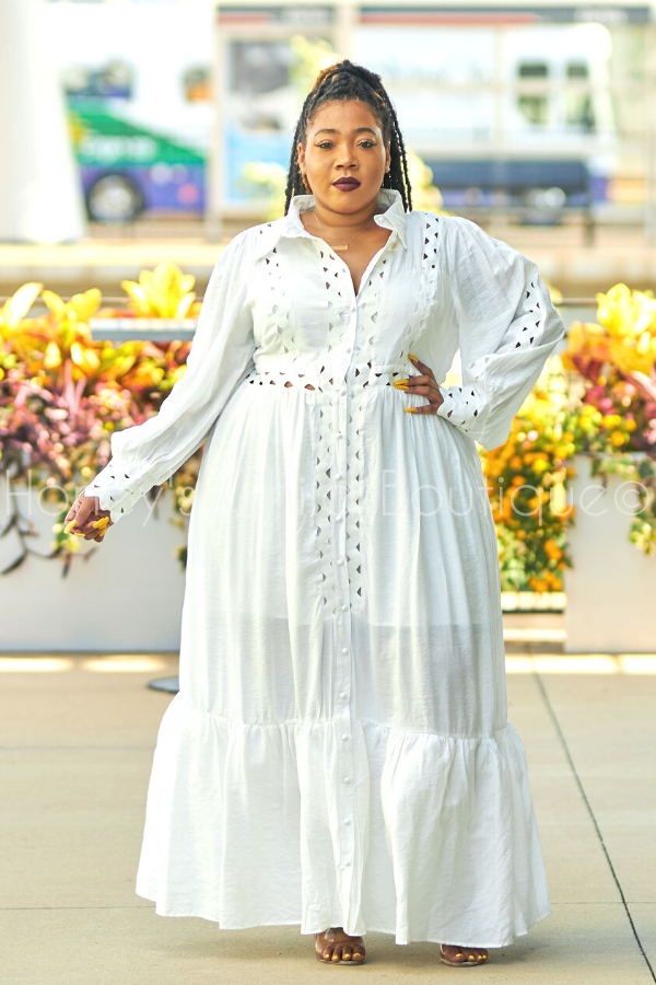 Blanca Love Button Up Maxi Dress-Latiste-[plus_size]-Honey's Child Boutique