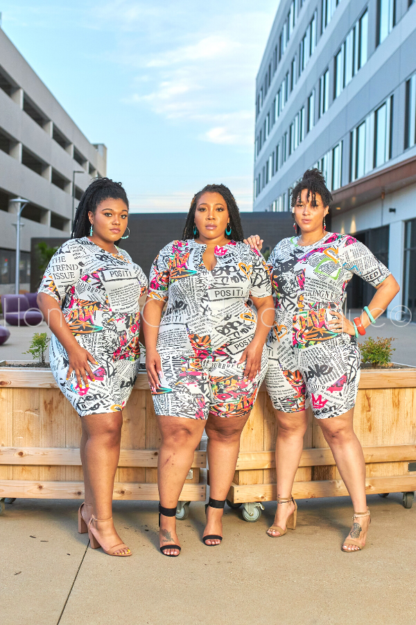 Body Positive Romper-Romper-Highlight-[plus_size]-Honey's Child Boutique