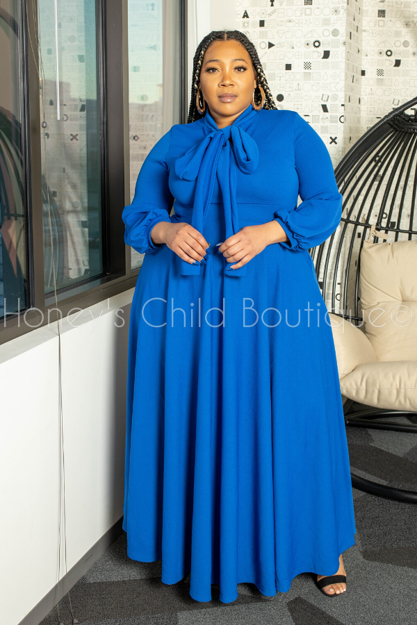 The Bow Tie Maxi Dress
