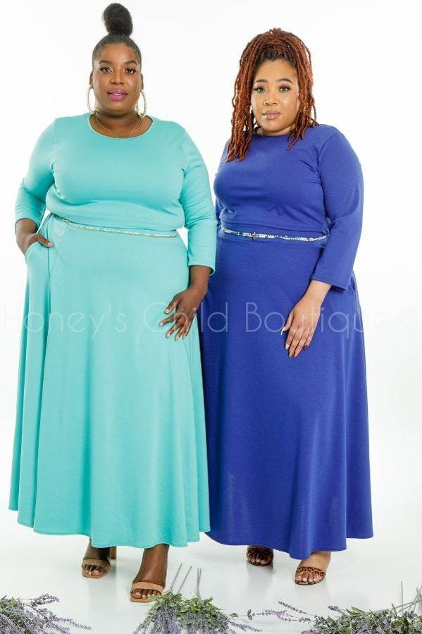 Darling Maxi Skirt Set-310 - Sets/Casual-Sexy Diva-[plus_size]-Honey's Child Boutique