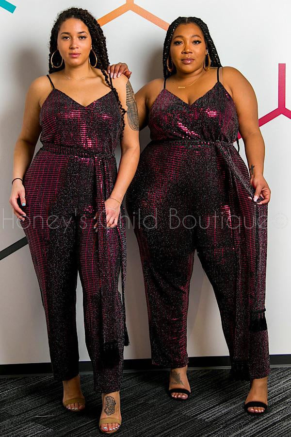 Ring the Alarm Sparkle Jumpsuit