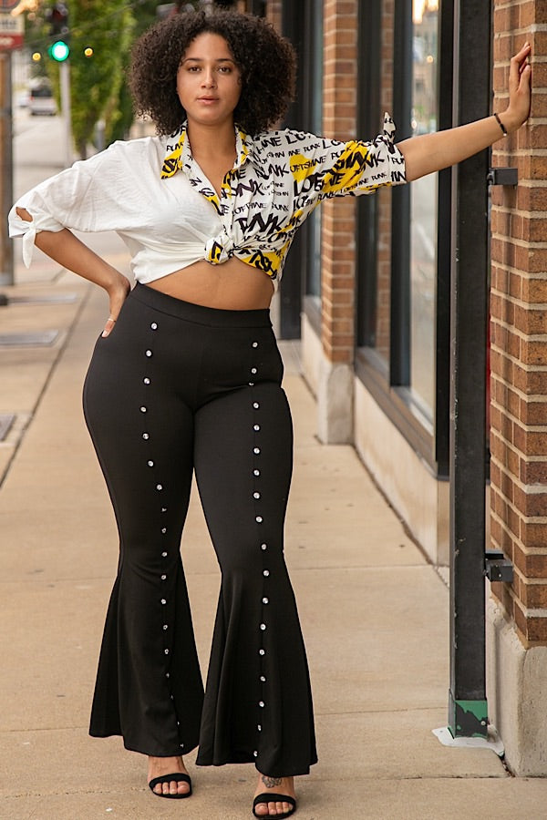 Dream Girl Rinestone Bell Bottoms *Limited Stock*