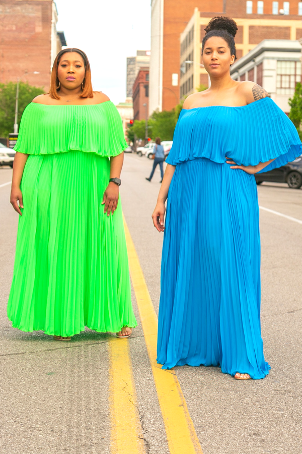High Life Pleated Maxi