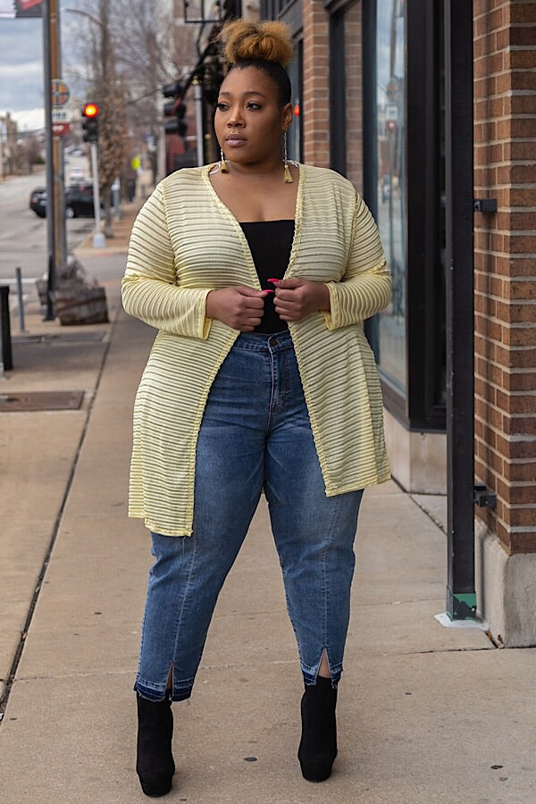 The Cardi Duster