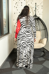 Rosé All Day Zebra Maxi