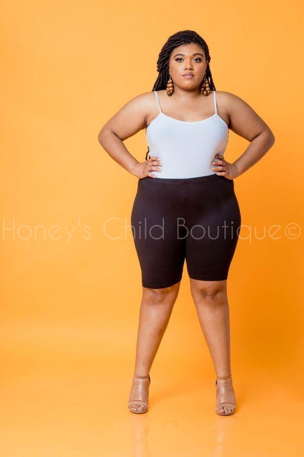 Running Around Biker Short-600 Bottoms-Zenana-[plus_size]-Honey's Child Boutique
