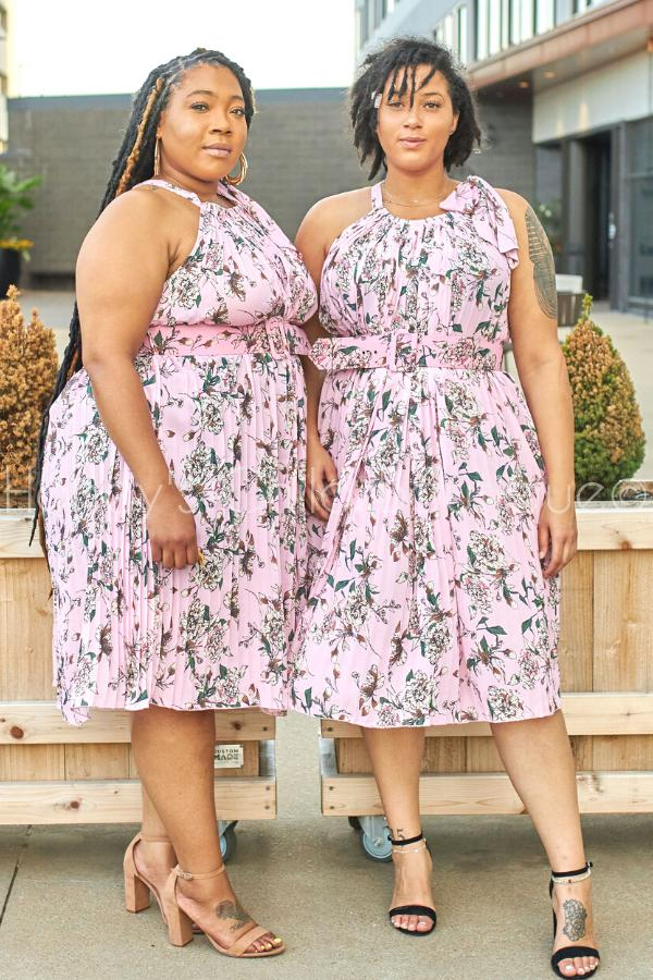 Saturday Brunch Pleated Swing Dress-Dress-Latiste-[plus_size]-Honey's Child Boutique