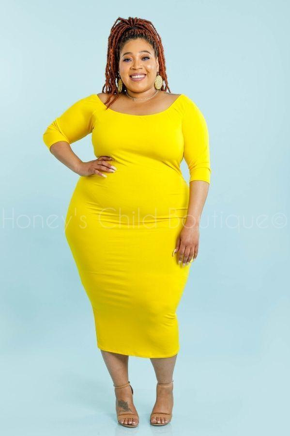 So Fetch Midi Dress-220 - Midi Dress-Sexy Diva-[plus_size]-Honey's Child Boutique