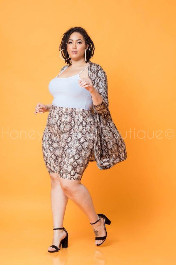 Venom Kisses Shorts Set 2.0-310 - Sets/Casual-Zenana-[plus_size]-Honey's Child Boutique