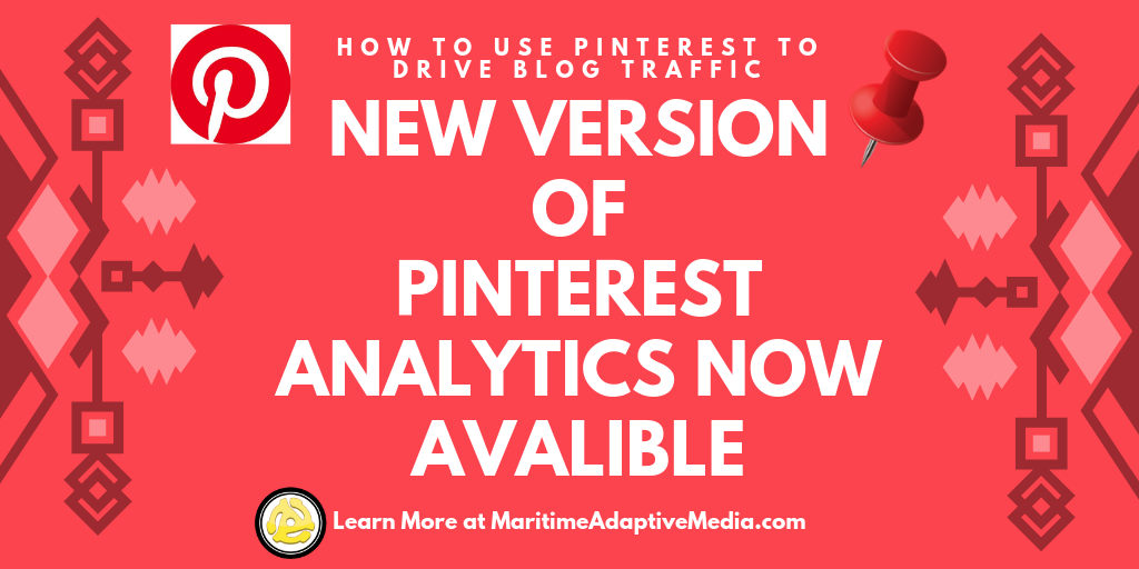 📌 Pinterest Releases New Version of Pinterest Analytics 📌