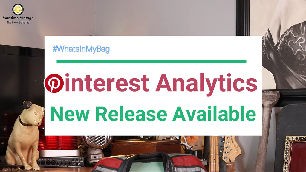 #WhatsInMyBag | ❤ Pinterest Analytics ❤ How to Use the New Pinterest Analytics Tools
