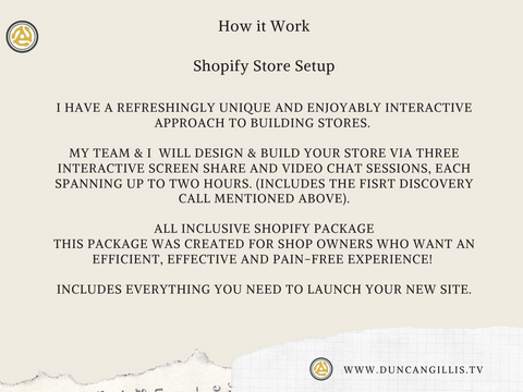 How to Move Your Business on Line with Shopify