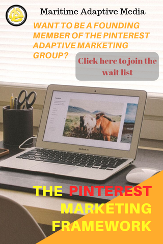 Waiting list for pinterest marketing framework membership site