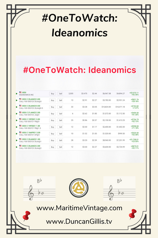 #OneToWatch Ideanomics