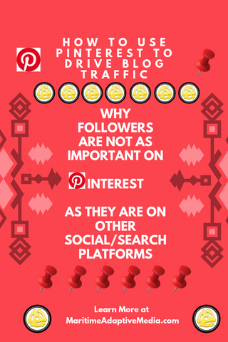 Why Followers are not as important on Pinterest as they are on instagram