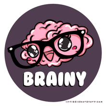 Load image into Gallery viewer, Brainy Brainiac Science Sticker
