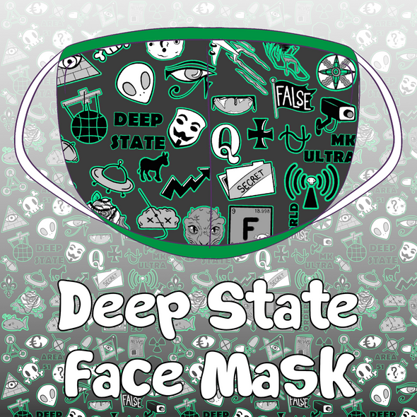 Deep State Face Mask