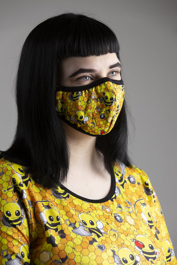 Hive Heroes Face Mask