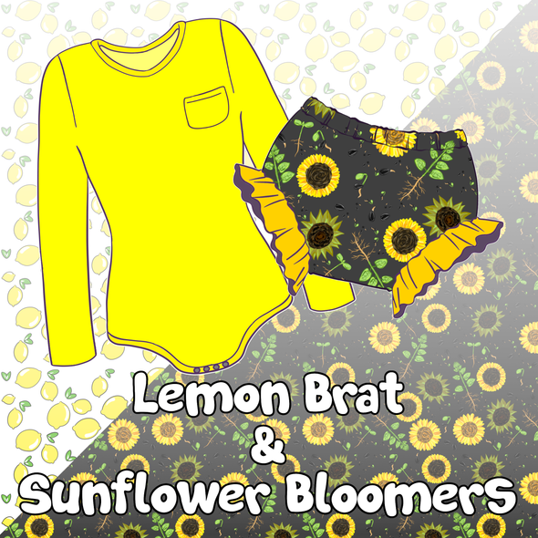 Sunflower Outfit Set