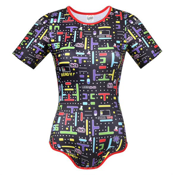 Ghost photo of 8-Bit Baby Onesie.