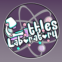 Load image into Gallery viewer, Littles Laboratory Logo Sticker