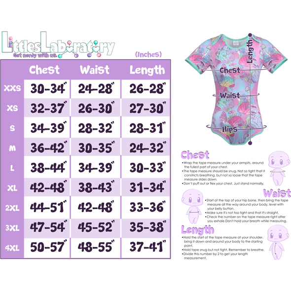 Glazed Galaxy Long-Sleeve Onesie