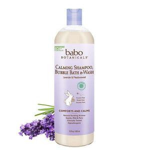 Babo Botanicals Calming Baby Bubble Bath & Wash (15 oz)