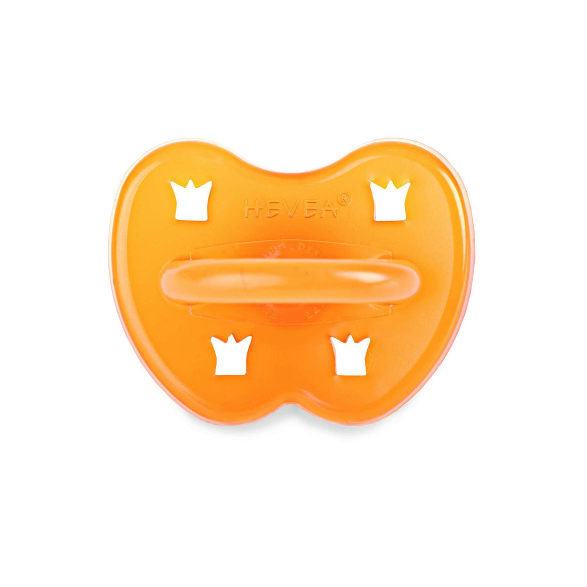 Hevea Crown & Round Pacifer (0-3 Months)
