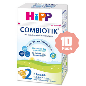HiPP Stage 2 Organic Follow-on Formula Combiotik® (6 Months+) (10 Pack)