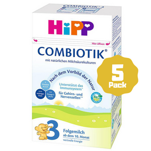 HiPP Stage 3 Organic Follow-on Formula Combiotik® (10 Months+) (5 Pack)