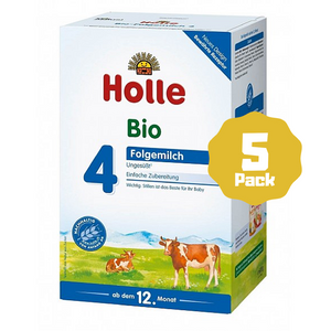Holle Stage 4 Organic Toddler Cow Milk Formula (12 Months+) (5 Pack)