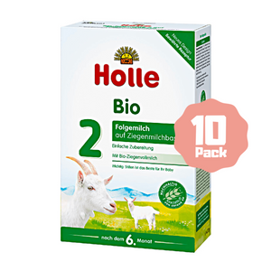 Holle Stage 2 Organic Follow-on Infant Goat Milk Formula (6 Months+) (10 Pack)