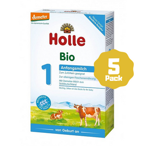 Holle Stage 1 Organic Infant Cow Milk Formula (0 Months+) (5 Pack)