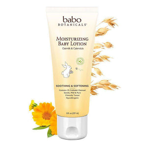 Babo Botanicals Moisturizing Baby Lotion (8 oz)