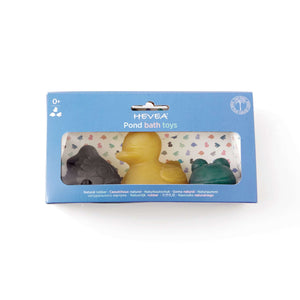 Hevea Pond Colourful Bath Toys