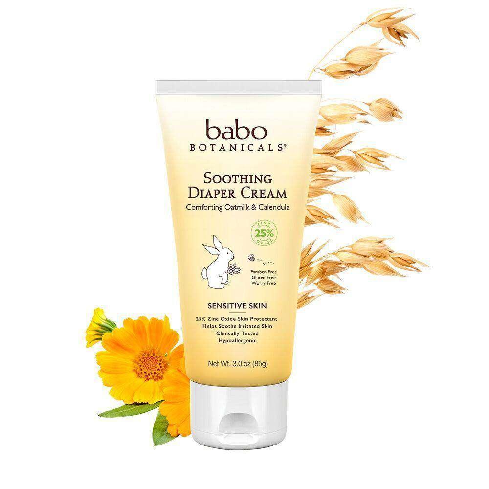 Babo Botanicals Soothing Diaper Cream (3 oz)