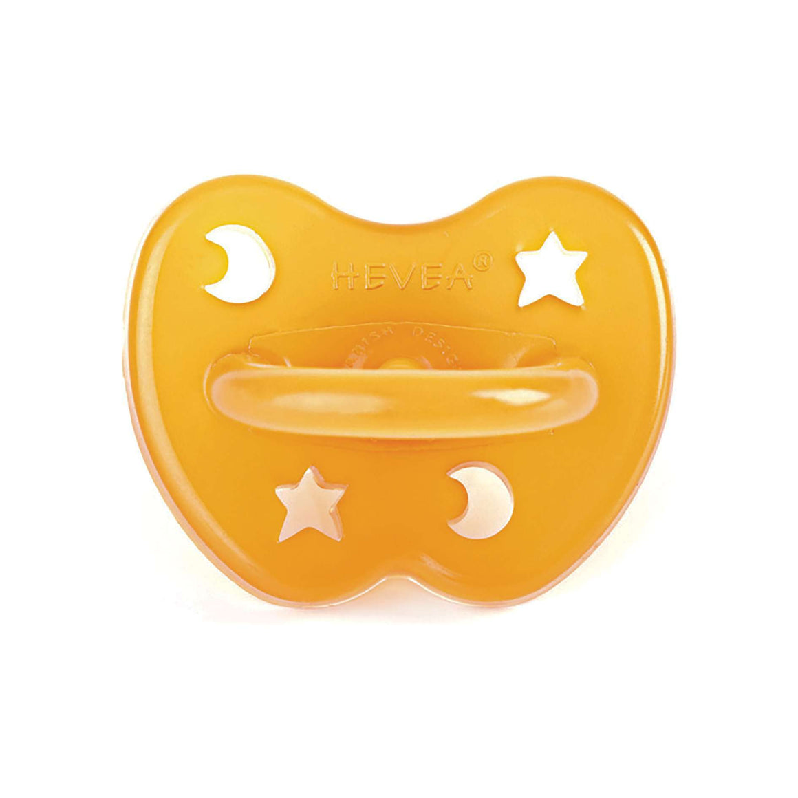 Hevea Star & Moon Pacifier (0-3 Months)