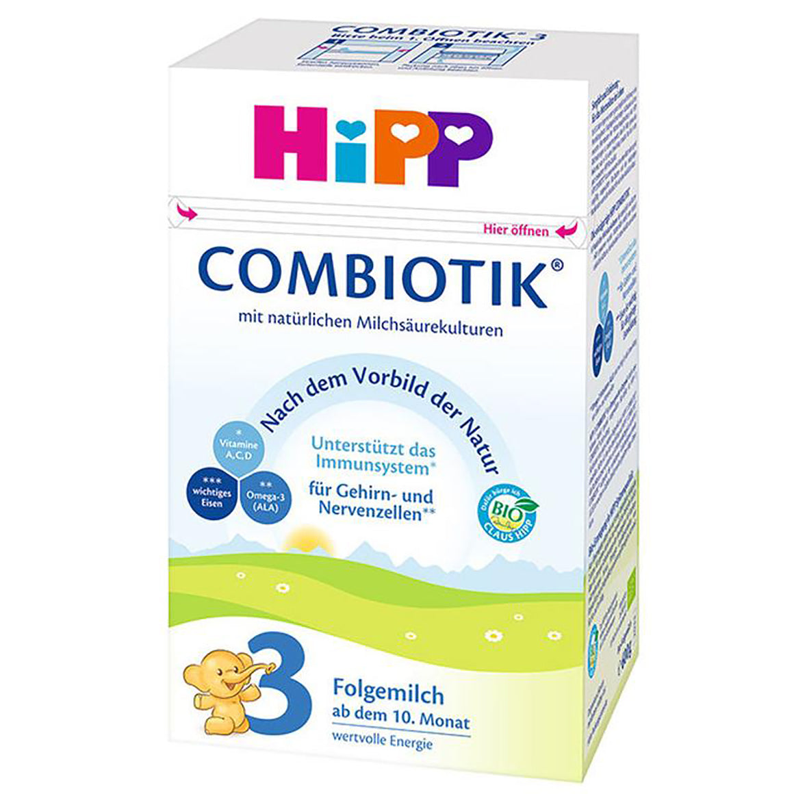 HiPP Stage 3 Organic Follow-on Formula Combiotik® (10 Months+)