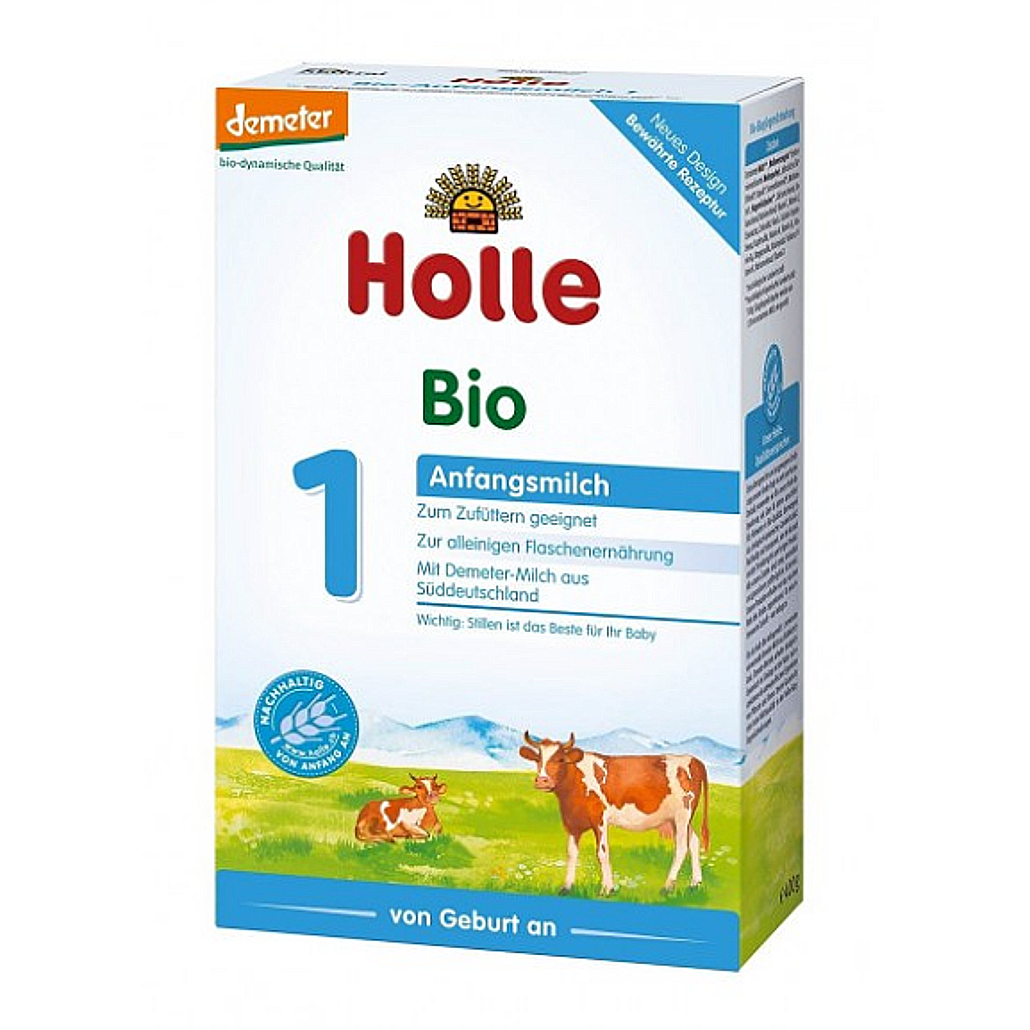 Holle Stage 1 Organic Infant Cow Milk Formula (0 Months+)