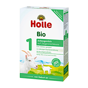 Holle Stage 1 Organic Infant Goat Milk Formula (0 Months+)