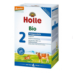 Holle Stage 2 Organic Follow-on Infant Cow Milk Formula (6 Months+)