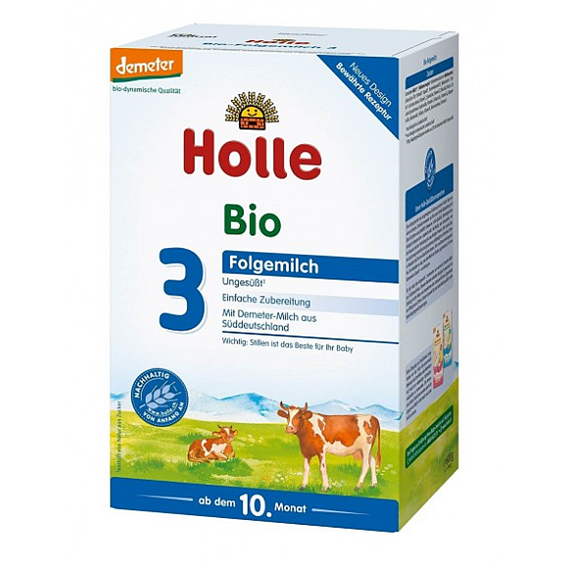 Holle Stage 3 Organic Baby Cow Milk Formula (10 Months+)