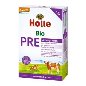 Holle Stage PRE Organic Infant Cow Milk Formula (0 Months+)