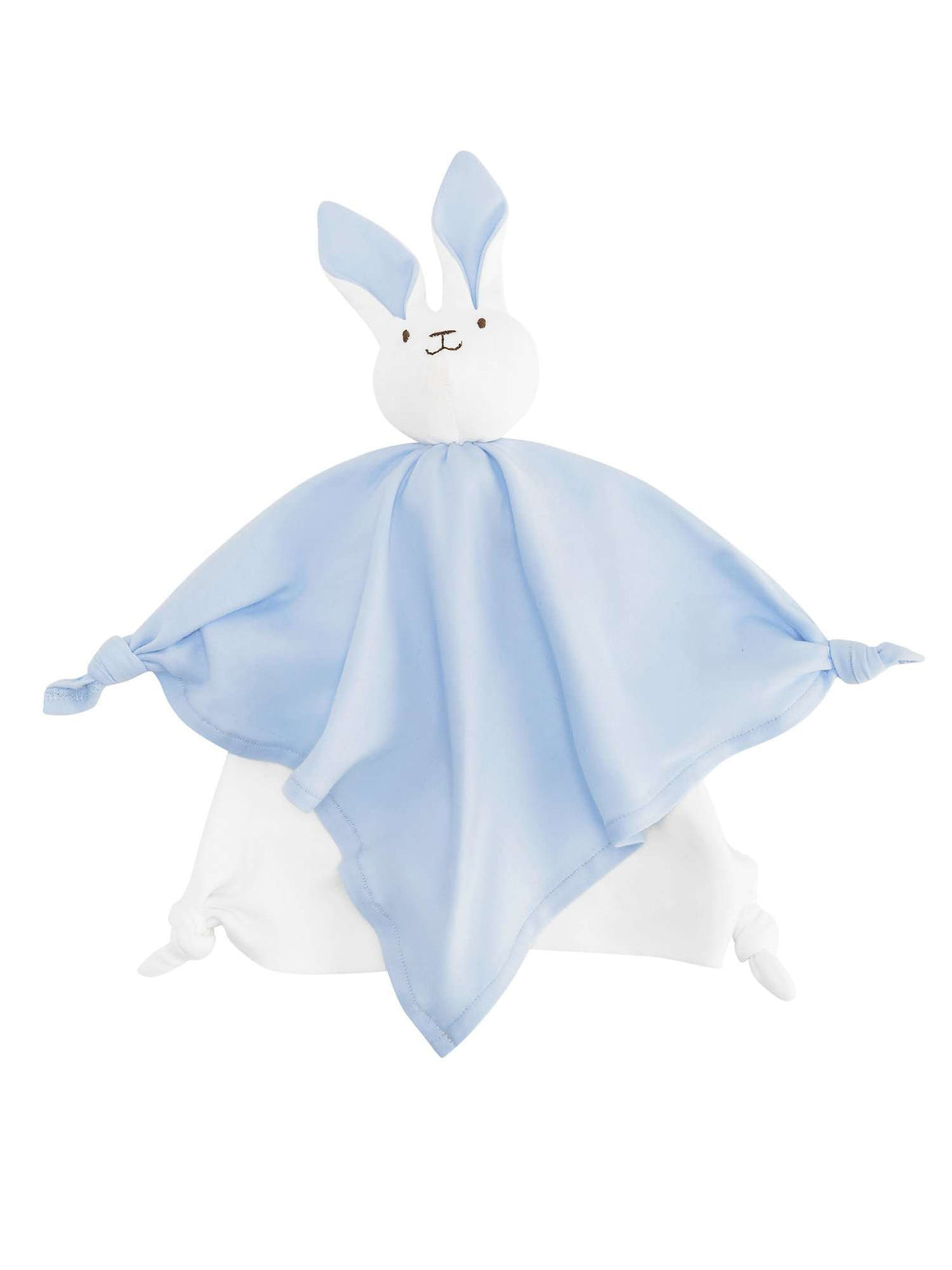 Under The Nile Bunny Lovey Toy (Blue)