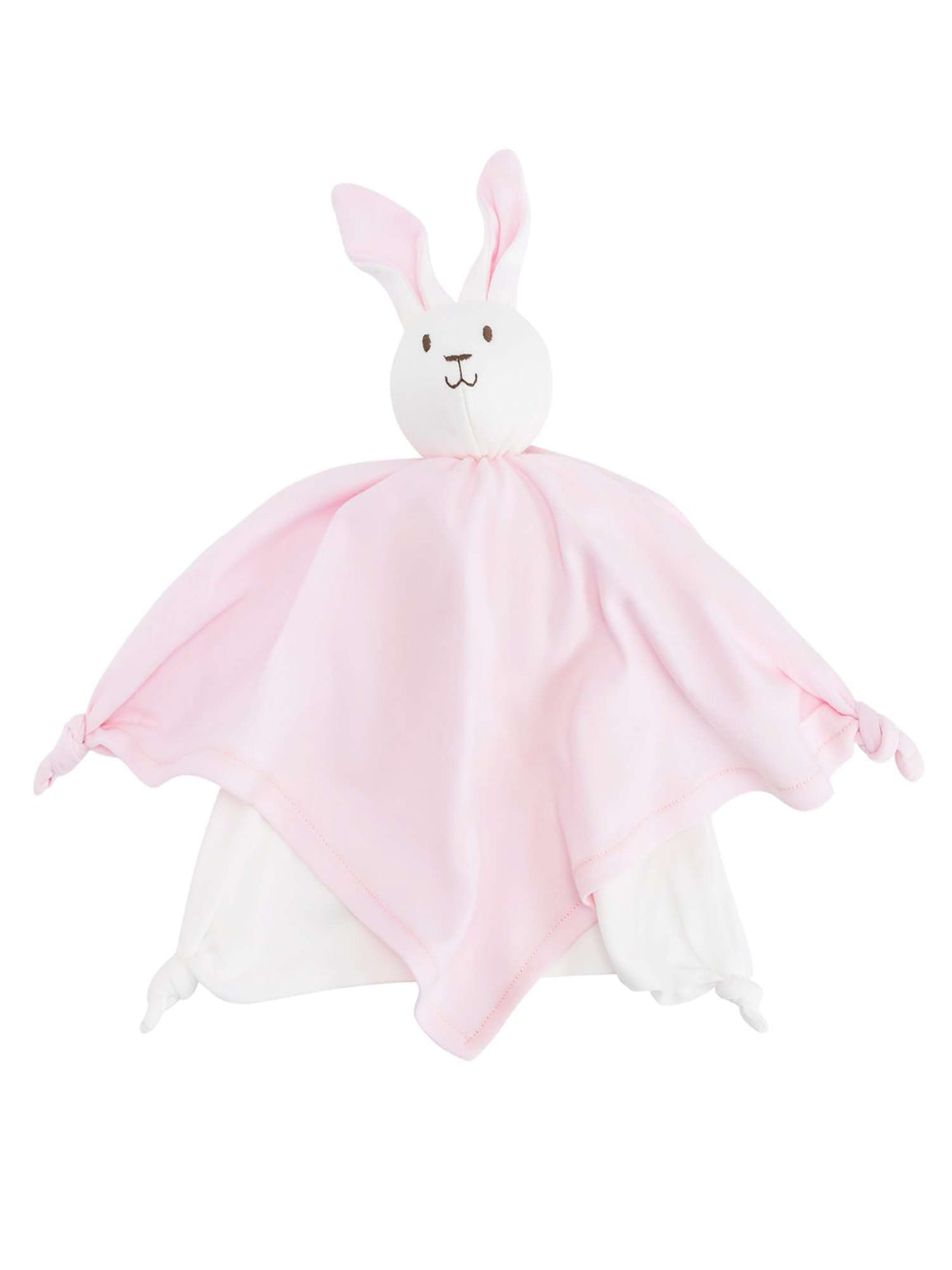 Under The Nile Bunny Lovey Toy (Pink)