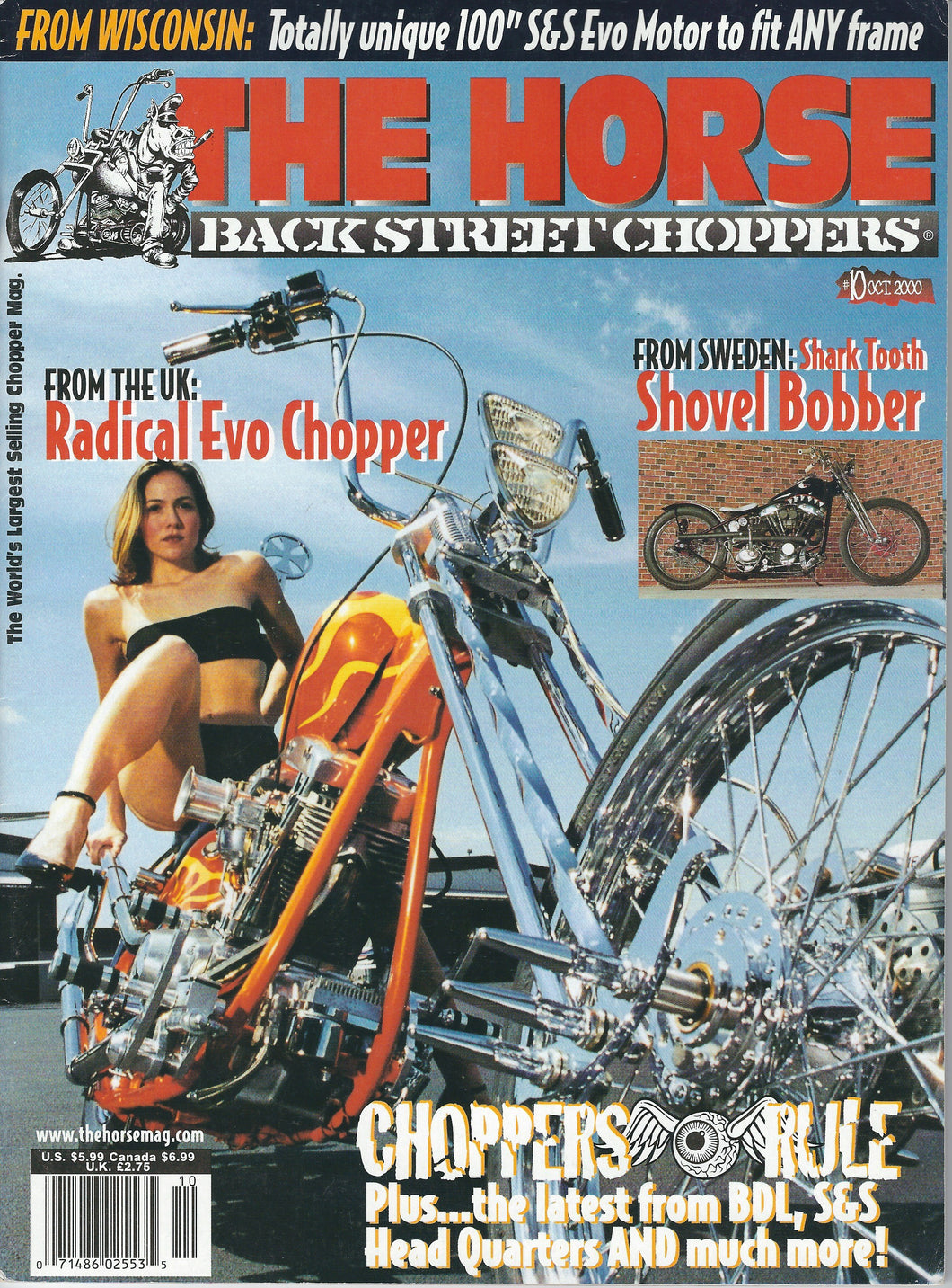 The Horse BackStreet Choppers Magazine Issue #10
