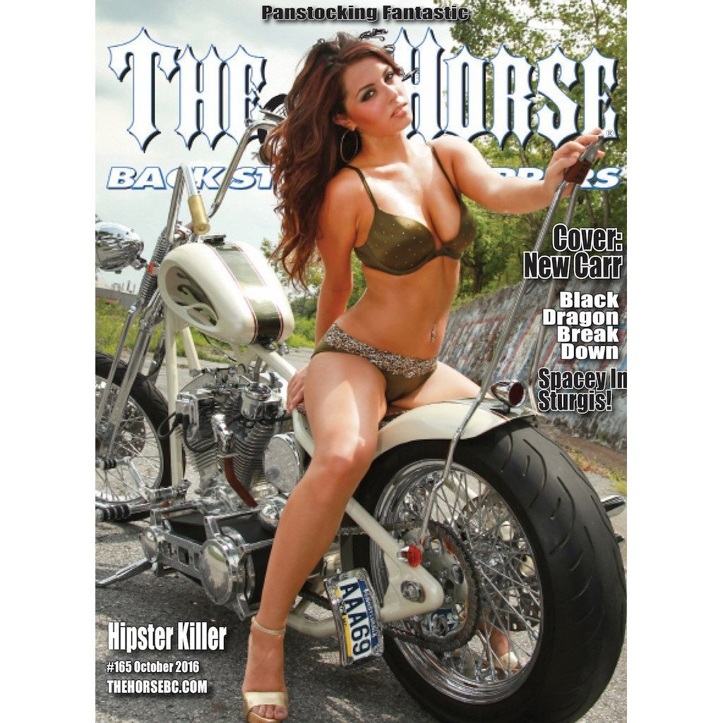 The Horse BackStreet Choppers Magazine Issue #165