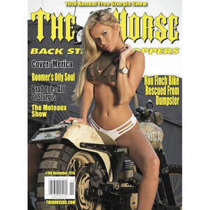 The Horse BackStreet Choppers Magazine Issue #166